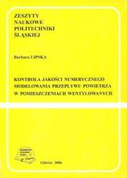 Lipska - Kontrola jakości numerycznego modelowania przepływu powietrza w pomieszczeniach wentylowanych