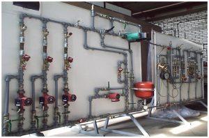 Stanowisko laboratoryjne dotyczące równoważenia hydraulicznego instalacji c.o.    dr hab. inż. Henryk Foit
