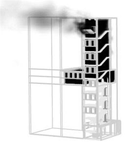 Analiza numeryczna przepływu dymu w budynku wielokondygnacyjnym    dr hab. inż. Małgorzata Król