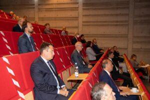 Zdjęcie z posiedzenia Rady Społecznej Politechniki Śląskiej