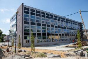 Zdjęcie bryły bryły budynku EHTIC