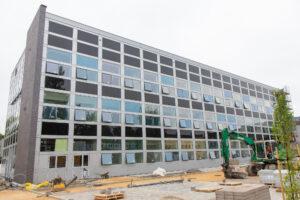 Zdjęcie z budowy EHTIC